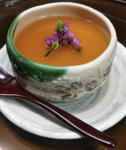 蕎麦茶プリン 450円