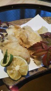 広島産牡蠣の天麩羅