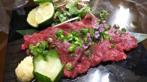 カナダ産・馬刺し(ロース肉)